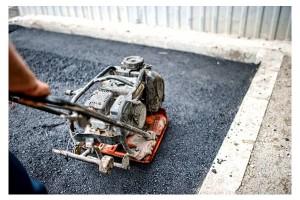 réparation pavage asphalte
